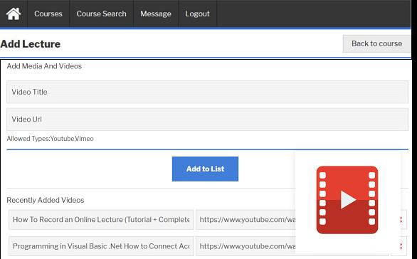 add lecture video
