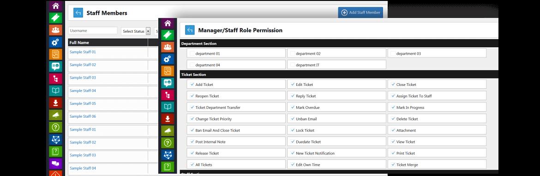 staff permissins