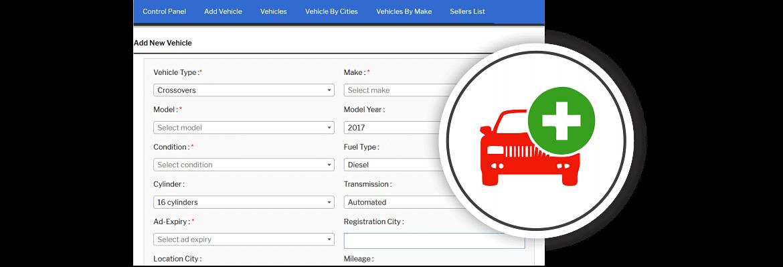 add vehicle