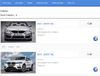 buyer vehicle list
