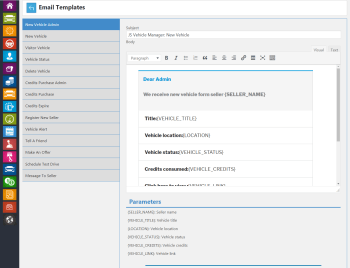 admin email temp