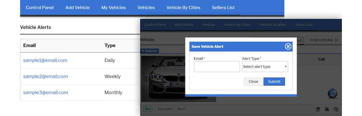 vehicle alert